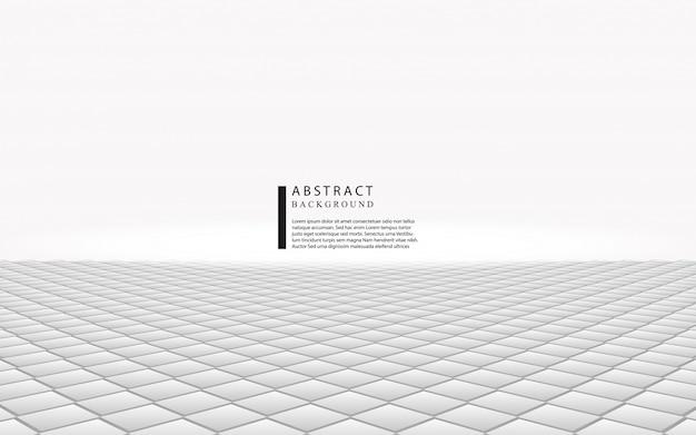 Абстрактный белый и серый квадратный фон