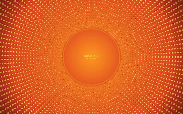 オレンジ色の抽象的なトレンディな背景