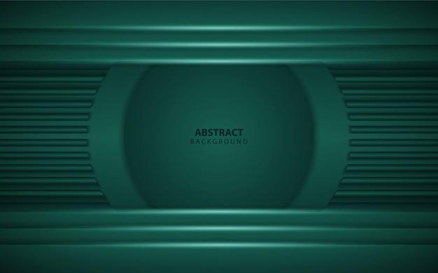 Абстрактный темно-зеленый фон