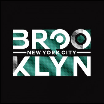 ブルックリン-タイポグラフィ