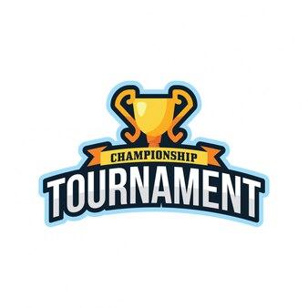 トーナメントスポーツリーグのロゴエンブレム
