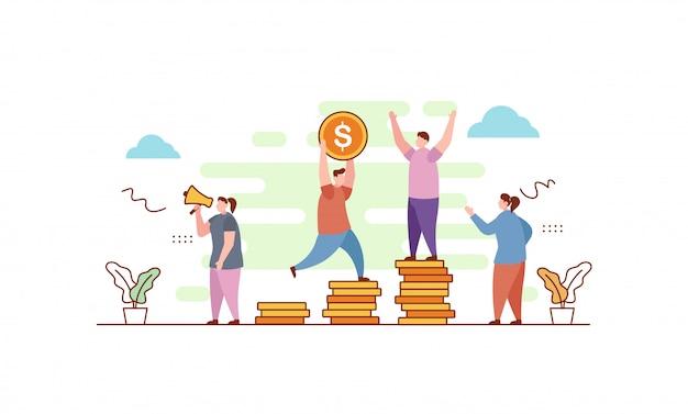 Бизнес инвестиционная сцена