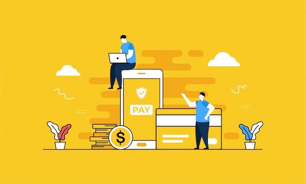 Целевая страница онлайн-платежей