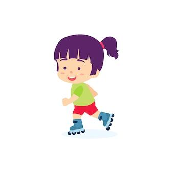 かわいい女の子スケート