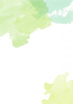 Симпатичные всплеск абстрактный фон акварель