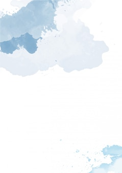 かわいいスプラッシュ抽象的な背景水彩画