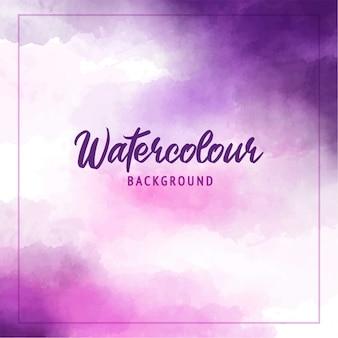 抽象的な水彩画の紫色の背景