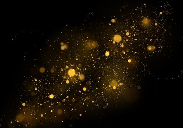 Текстура фон абстрактный черный и белый или серебристый блеск и элегантный на рождество. пыль белая. сверкающие магические частицы пыли. магическая концепция. абстрактный фон с эффектом боке