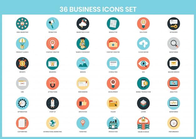 Бизнес иконки для бизнеса