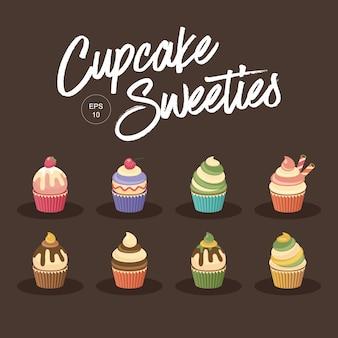 カップケーキのお菓子