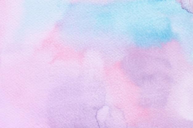 Красочный акварельный фон единорога. радужный фон
