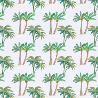 Фон с фоном пальмы