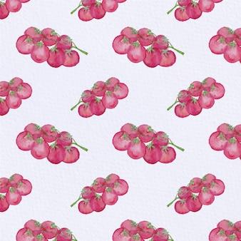 ブドウのパターンの背景