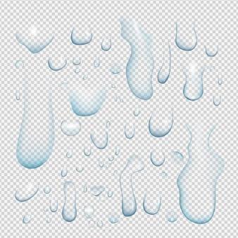 Капли воды реалистичные