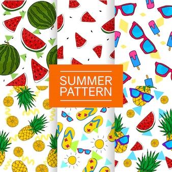 夏のパターンコレクション