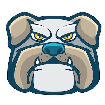 Логотип бульдога
