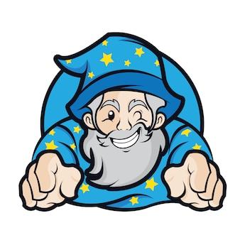 ウィザードマスコットロゴ