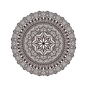 花の曼荼羅の背景