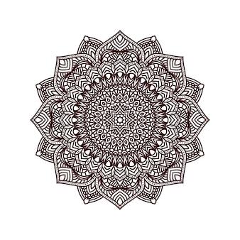 美しい花の曼荼羅の背景