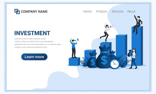 ビジネスマンは、投資の成功、金融成長の成功、利益の収入を達成します。