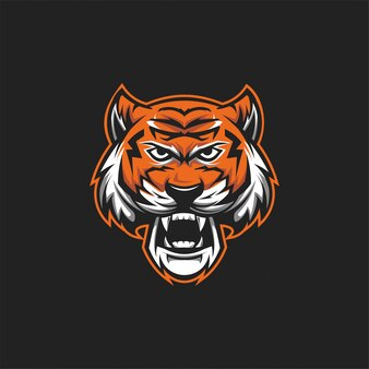 Логотип тигровой головы