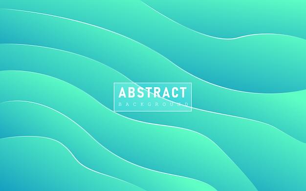Абстрактный фон с синим и зеленым градиентом