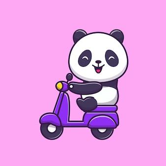 Милый верхом скутер
