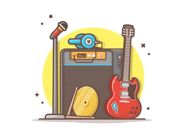 Концерт с музыкальными инструментами