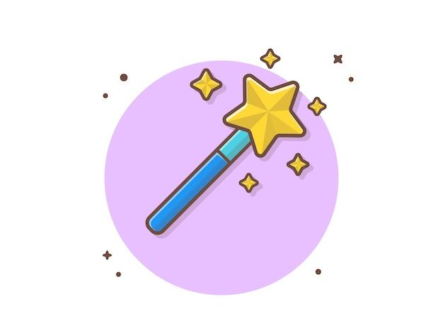 円の魔法の棒