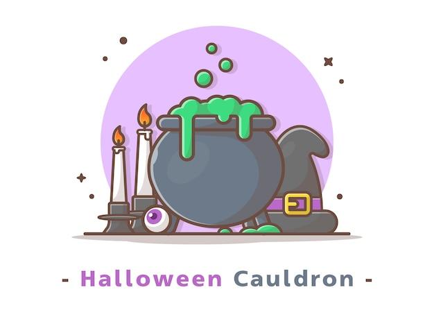 Котел хэллоуин