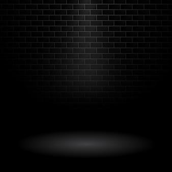 Темный фон стены