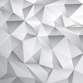 抽象的な白いポリ背景