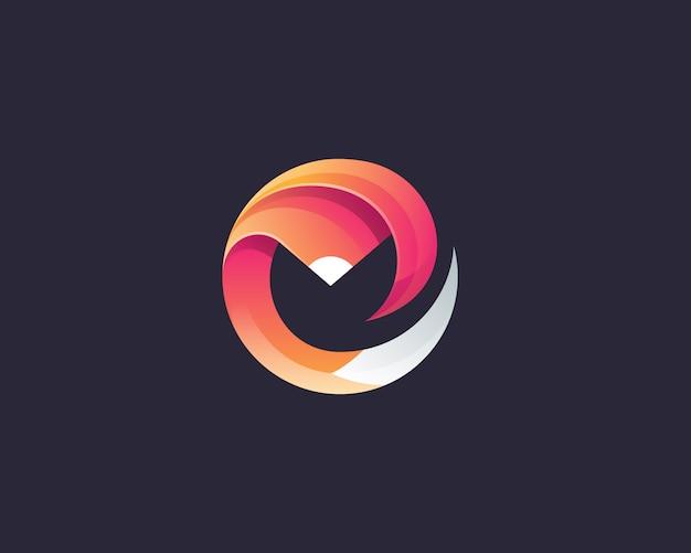 抽象的な創造的なロゴ