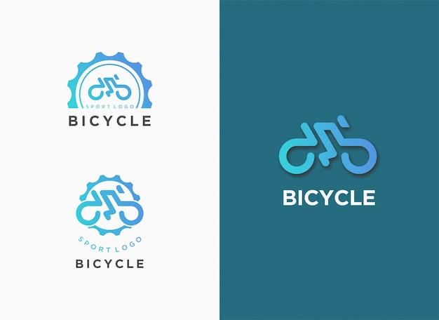 自転車のロゴ
