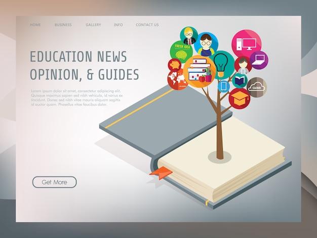 等尺性概念を持つ教育ツリー