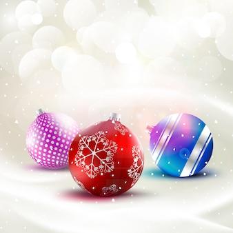 Роскошный новогодний фон