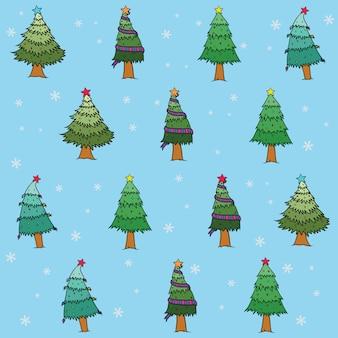 クリスマスのパターンの背景