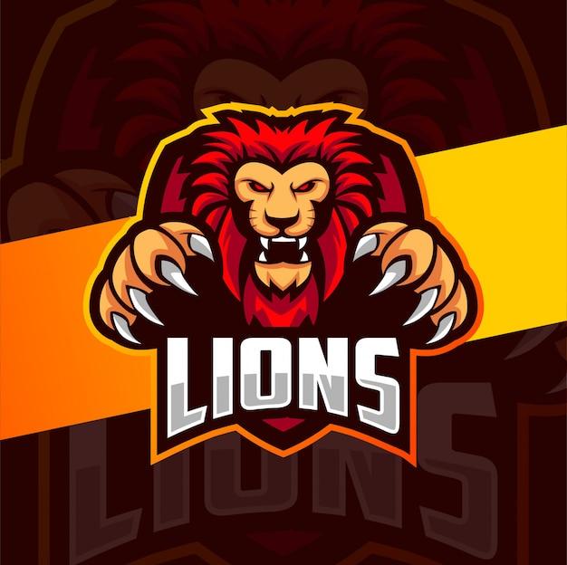 Дизайн талисмана льва