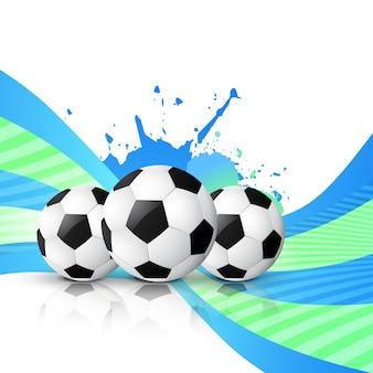 サッカーのデザインベクトル