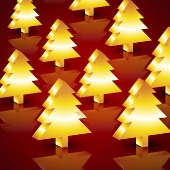 Векторная новогодняя елка