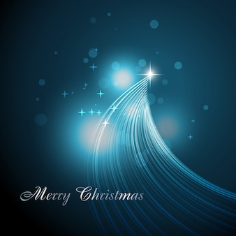 Красивая художественная рождественская елка
