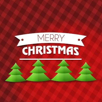 冬シーズンのクリスマスカード