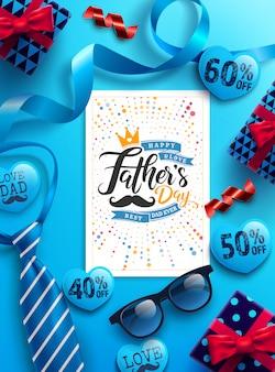 Рекламный баннер ко дню отца