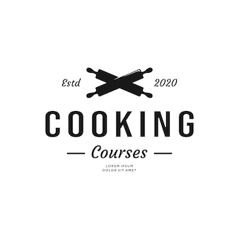 Старинные кулинарные курсы дизайн логотипа