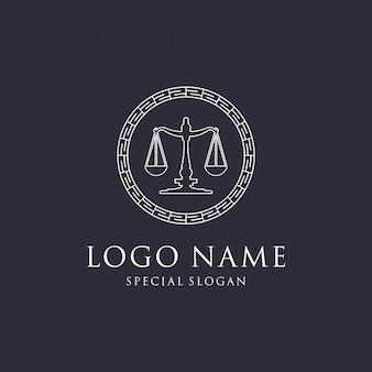法律のロゴデザイン