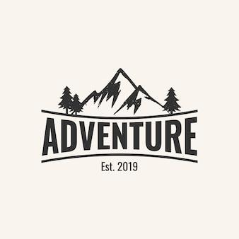 冒険のロゴデザインのインスピレーション、