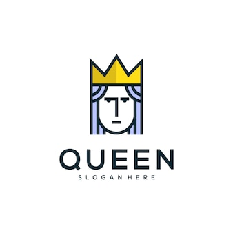 Королева дизайн логотипа
