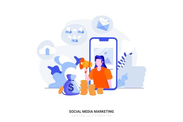 ソーシャルメディアマーケティングの概念