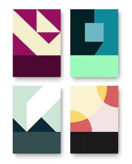 Геометрический графический фон