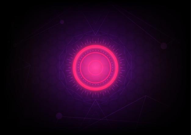 Красная энергия абстрактный фон